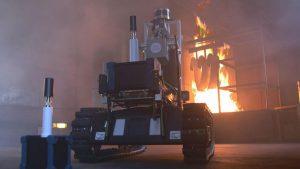 روباتی با حس بویایی که به آتش نشانان کمک می کند