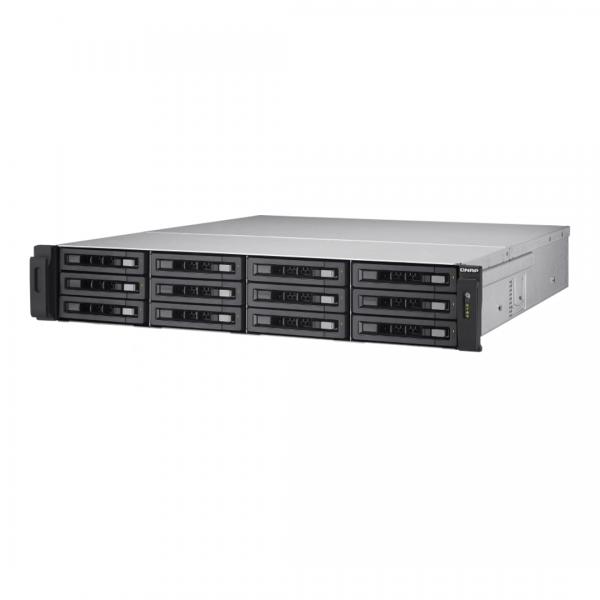 ذخیره ساز NAS کیونپ مدل TS-EC1280U-E3-4GE-R2
