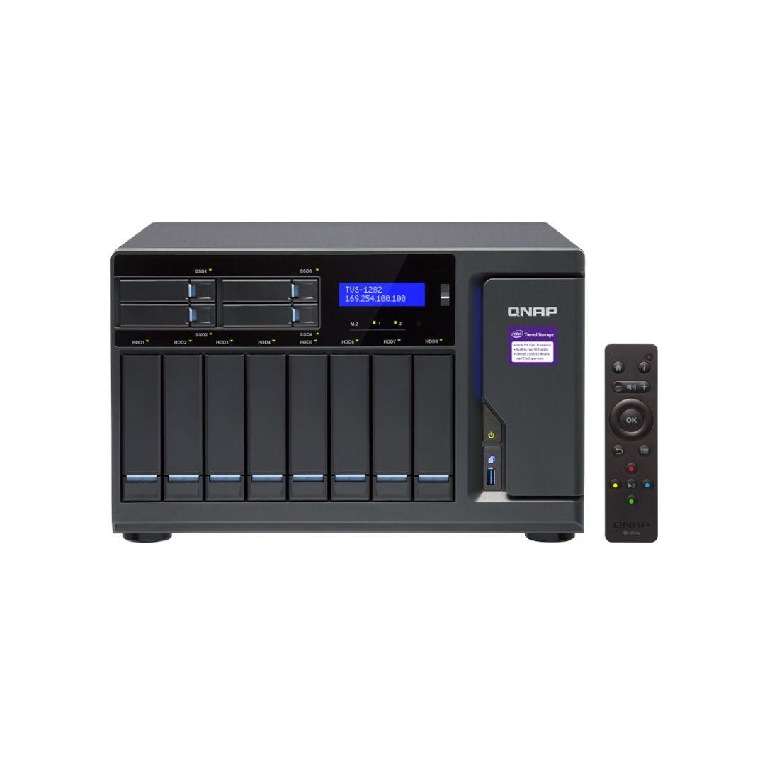 ذخیره ساز NAS کیونپ مدل TVS-1282-I5-16G