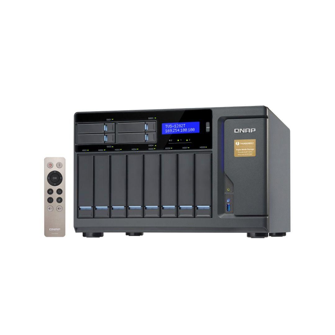 ذخیره ساز NAS کیونپ مدل TVS-1282T-i5-16G
