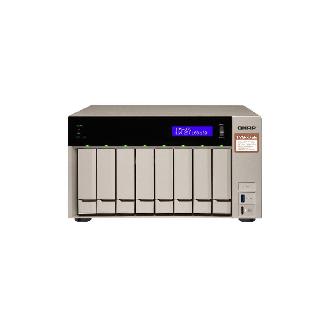 ذخیره ساز NAS کیونپ مدل TVS-873e-8G