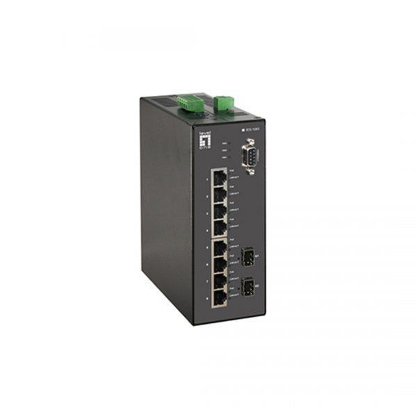 سوییچ شبکه لول وان مدل IES-1083