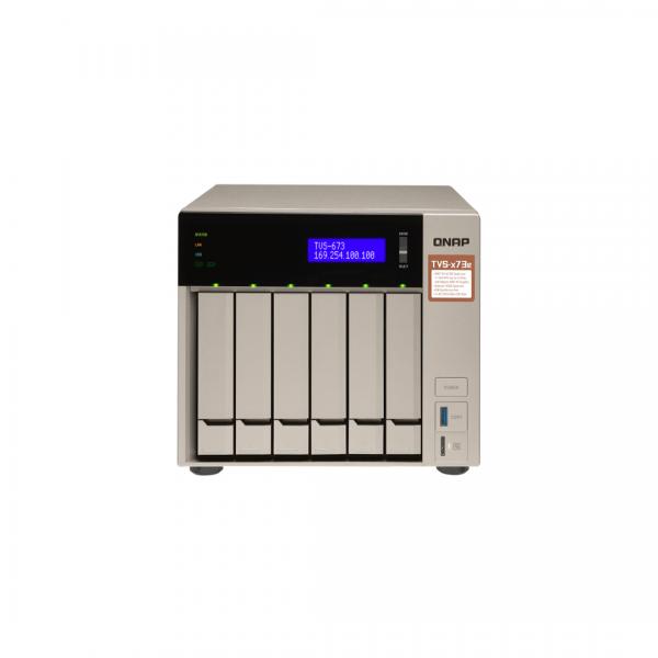 ذخیره ساز NAS کیونپ مدل TVS-673E-4G