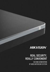 2nd Generation IP Video Intercom System