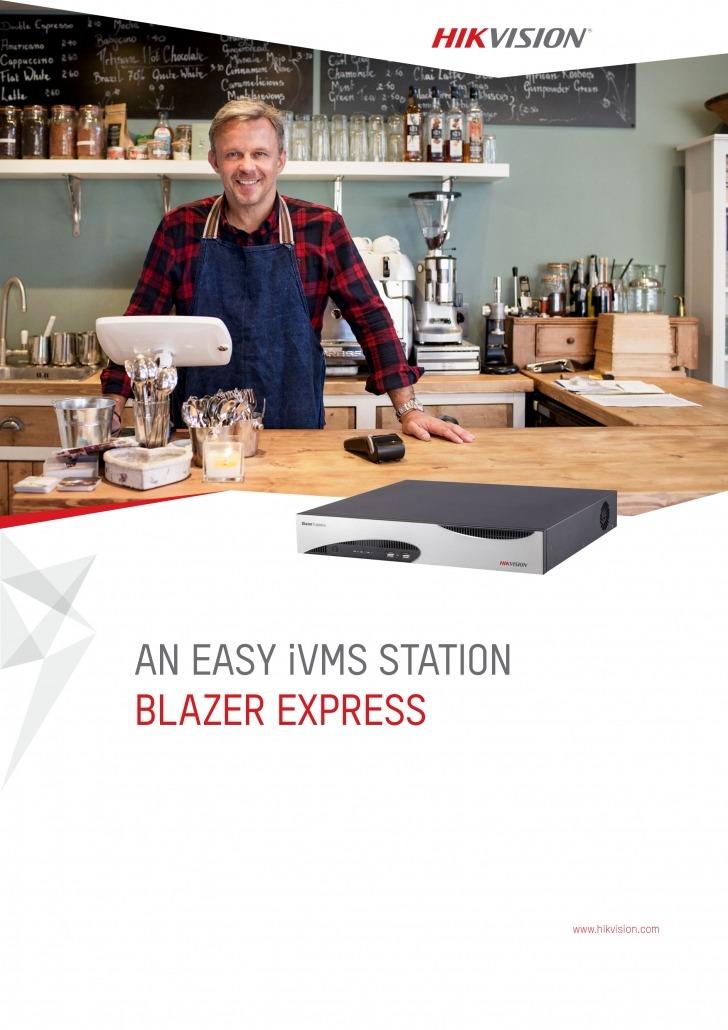 دانلود بروشور Blazer Express