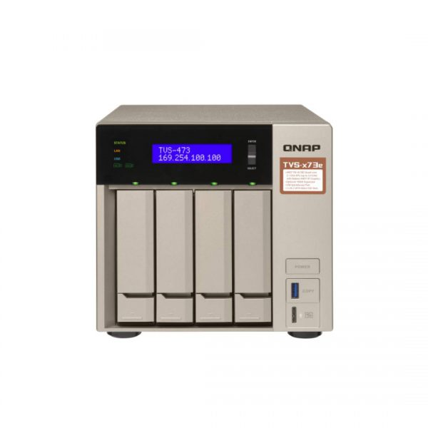 ذخیره ساز NAS کیونپ مدل TVS-473e-4G