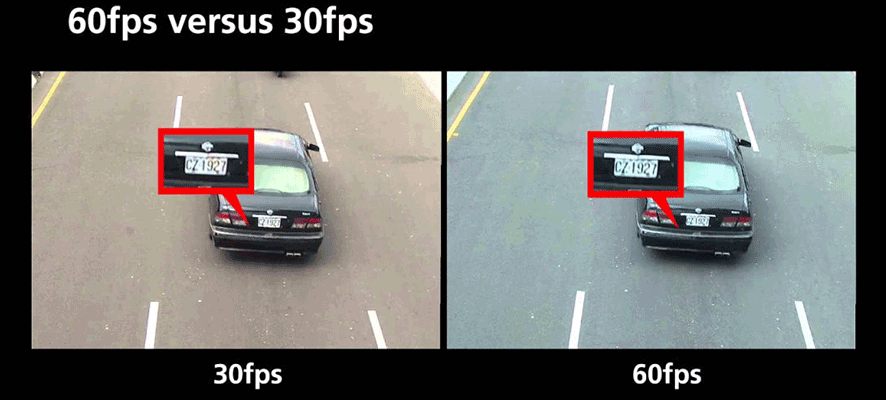 دوربین 60 فریم بر ثانیه هایک ویژن