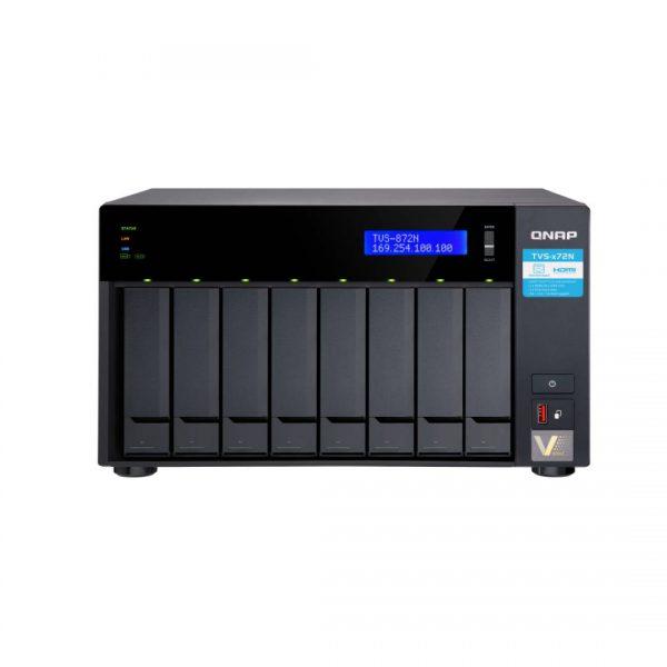 ذخیره ساز NAS کیونپ مدل TVS-872N-i3-8G