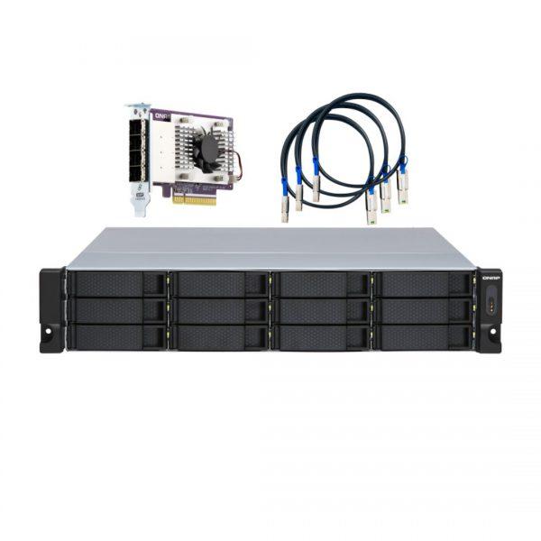 ذخیره ساز NAS کیونپ مدل TL-R1200S-RP