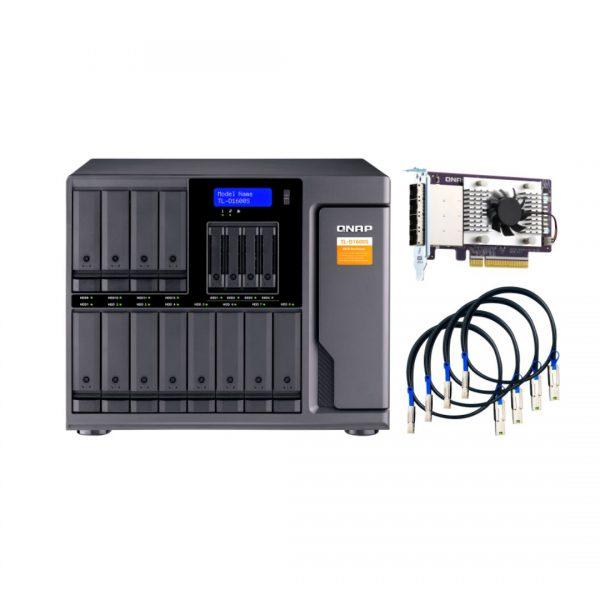 ذخیره ساز NAS کیونپ مدل TL-D1600S