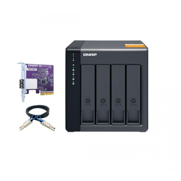 ذخیره ساز NAS کیونپ مدل TL-D400S