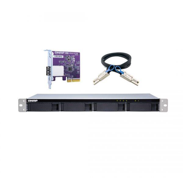 ذخیره ساز NAS کیونپ مدل TL-R400S