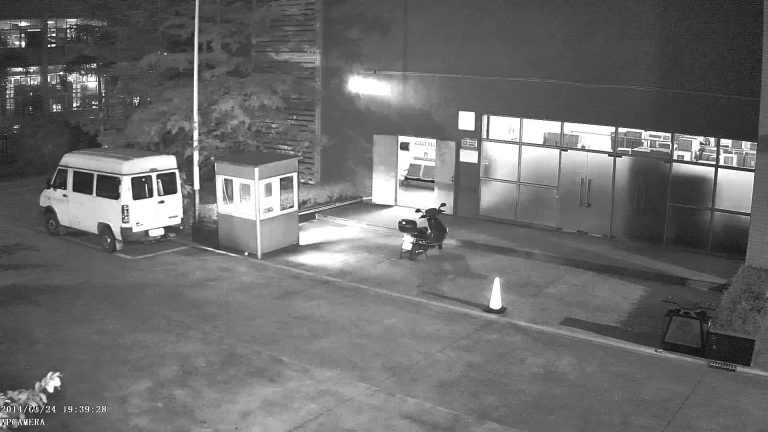 hlc در دوربین مداربسته هنگم عکسبرداری در شب